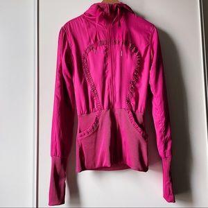 lululemon Dance Studio Jacket reversible hood